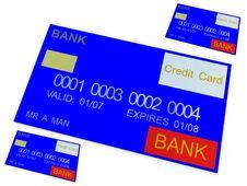 Free Credit Card 12 Royalty Free Stock Image - 3188516