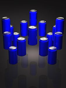 Free Soda Cans Stock Image - 3189121