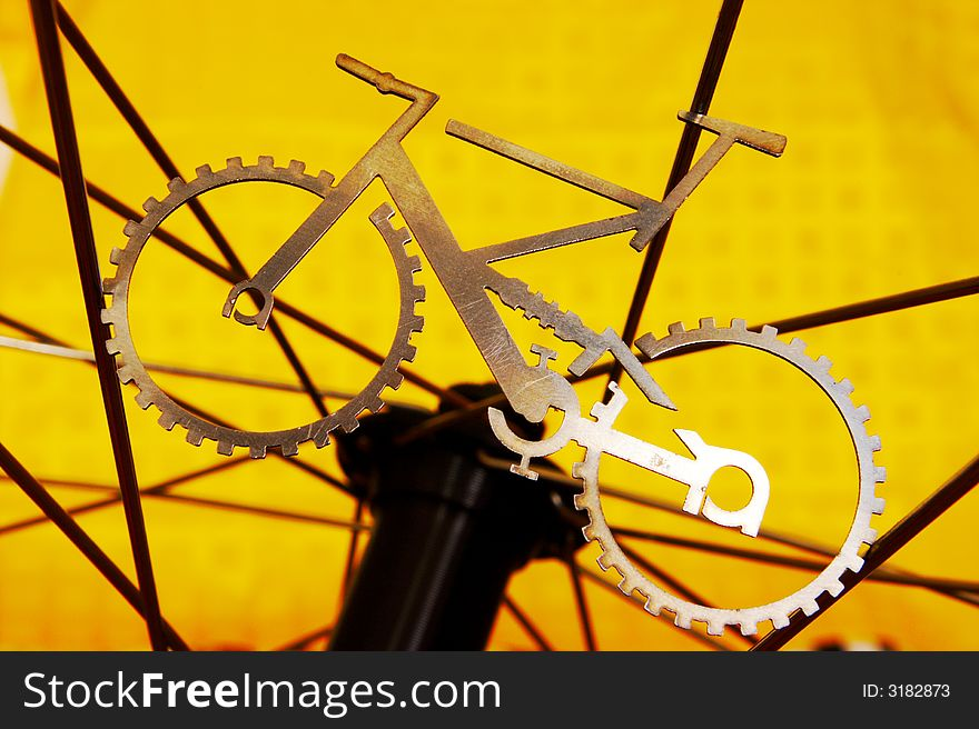 When bike meets wheel