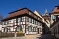 Free A Half-timbered House In Bamberg, Germany. Stock Photo - 31803620