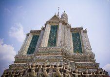 Free Wat Arun Bangkok Thailand Stock Images - 31801354