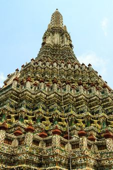 Free Wat Arun Bangkok Thailand Royalty Free Stock Photos - 31802378