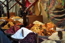 Free Oriental Sweets On The Market Royalty Free Stock Image - 31803066