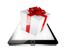 Free Tablet Present Stock Photography - 31803912