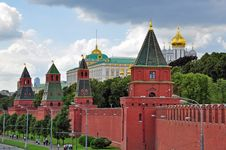 Free Moscow Kremlin Stock Photography - 31804232