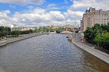 Panorama Of Moscow Stock Photography