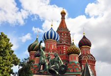 Free Close-up View Of St. Basil S Cathedral Royalty Free Stock Photos - 31804868