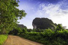 Free Rural Roads, Krabi Province. Stock Photos - 31805153