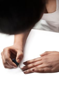 Free Painting Nails Stock Image - 31805871