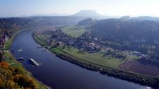 Free The Elbe Valley In Saxony, Germany Stock Photo - 31807050