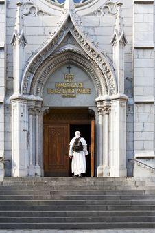 Free Roman Catholic Church In Yalta, Crimea, Ukraine Stock Photos - 31808573