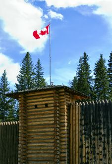 Canadian Fort Royalty Free Stock Photography
