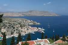 Island Symi Stock Photo