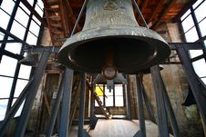 Bells In The Gothic-style Roman Catholic Church Of Saint Michael. Stock Images