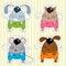 Free Icon Funny Animals Stock Image - 31809851
