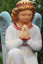Free Figure Of A Praying Angel Stock Image - 31811901