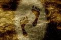Free Grunge Footprints Stock Photos - 31816003