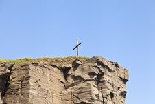 Free Cross On The Rock Stock Images - 31811404