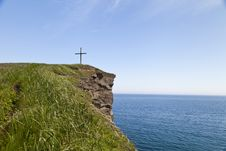 Free Cross On The Rock Stock Photos - 31812033