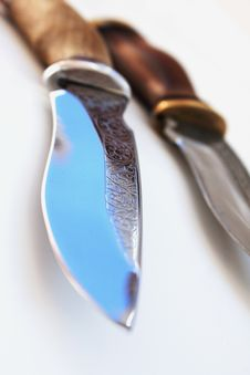 Free Hunting Knives Royalty Free Stock Photography - 31812187