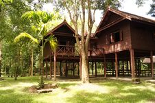 Free Old Thai House Royalty Free Stock Images - 31816089