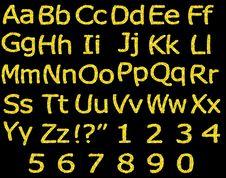 Free Alphabet, Script, ABC Stock Photography - 31817522