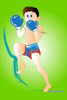 Free Thai Boxing Stock Photo - 31817880