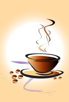 Free Cup Coffee Art Royalty Free Stock Photo - 31818025