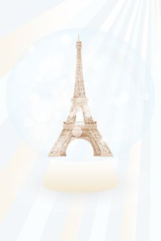 Free Snow Globe With Eiffel Tower Stock Photo - 31818650