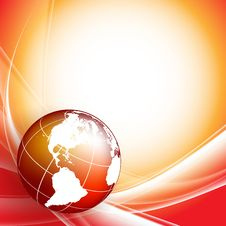 Free Background With Globe Royalty Free Stock Images - 31819769