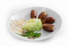 Free Sausage Thai Royalty Free Stock Photo - 31827395