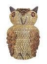 Free Native American Owl Basket. Royalty Free Stock Image - 31833036