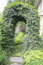 Free Ivy Arch Doorway Royalty Free Stock Photo - 31837035