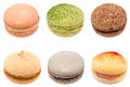 Free Colorful Macarons Isolated On White Background Stock Photography - 31849802
