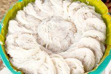 Free White Thai Noodle Texture Stock Photo - 31844580
