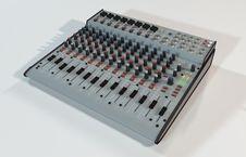 Free Audio Mixer Stock Photography - 31846382