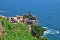 Free Cinque Terre Top View Stock Image - 31854351