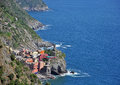 Free Vernazza Village Seascape Stock Photo - 31854440