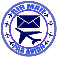 Free Air Mail Stock Photography - 31850632