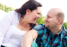 Free Happy Couple Is Having Fun Stock Images - 31850854