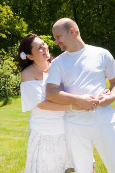 Free Happy Married Couple Stock Photos - 31850963