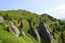 Free Summer Mountain Route Royalty Free Stock Photos - 31851448