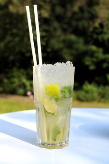Cocktail Mojito Stock Image