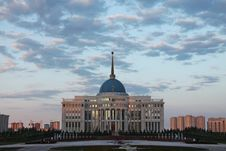 Kazakhstan Presidential Palace Stock Images