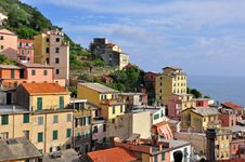 Free Italian Village On Sunset Stock Images - 31854544