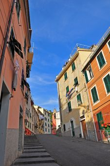 Free Italian Village Street Stock Photography - 31854822