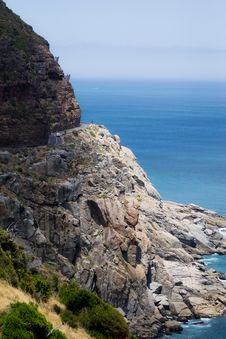 Free Chapman S Peak Road Royalty Free Stock Photos - 31855868