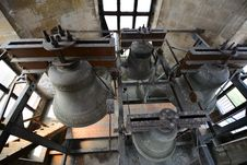 Free Four Bells Viewed From Above. Stock Photography - 31859512