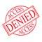 Free Access Denied Royalty Free Stock Photos - 31850418