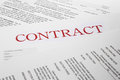 Free Contract Form Stock Image - 31860681